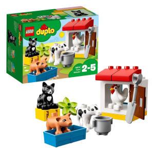 Town Farm Animals Building Bricks