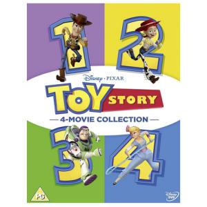 Disney & Pixar's Toy Story 1-4 Boxset