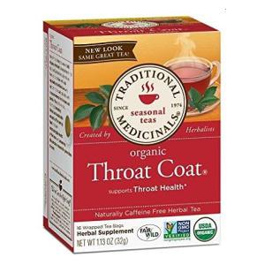 Traditional Medicinals Organic Throat Tea