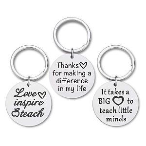 Tutor Appreciation Key Rings