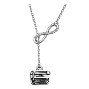 Typewriter Necklace Gift