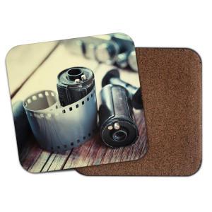 Vintage Camera Lover Coaster