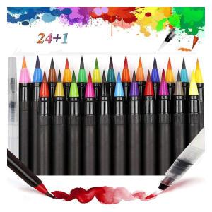 Watercolour Calligraphy Brush Pens Set