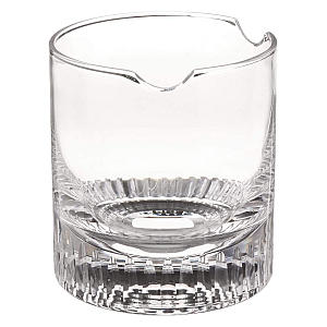 Whiskey Glass with Built in Cigar Holder