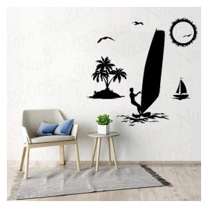 Windsurfing Wall Decal