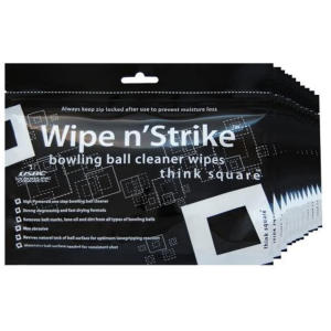 3x Bowling Ball Cleaner Wipe