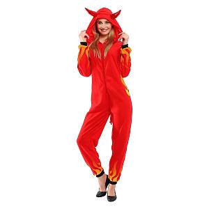 Women Red Devil Costume
