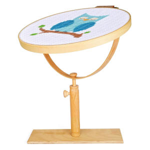 Wooden Adjustable Rotating Embroidery Hoop Stand