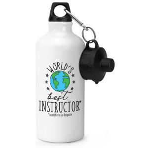 World's Best Instructor Sports Bottle Water