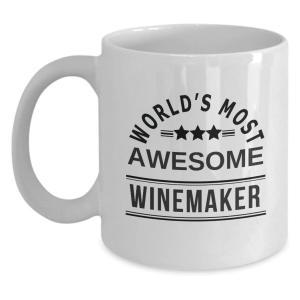 World's Most Awesome Winemaker Coffee Mug