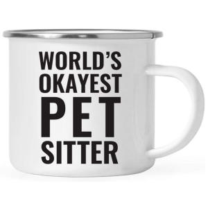 World's Okayest Pet Sitter Mug