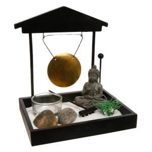 Zen Garden Tray Set with Buddha