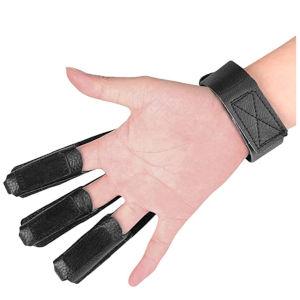 Archery Glove Finger Tab Gloves