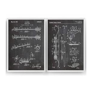 Archery Set 2 Patent Prints