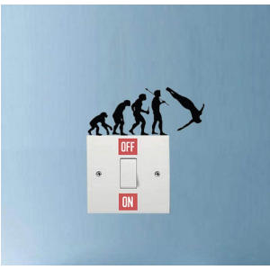 Cliff Diving Wall Stickers