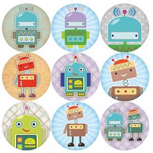 Children's Robot Reward Stickers