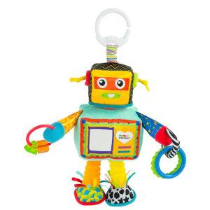 Rusty the Robot Pram Toy
