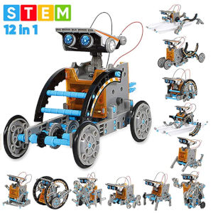 12-in-1 Education Solar Robot