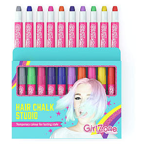 10 Piece Hair Chalk Set