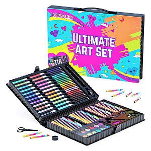118 Pieces Art Sets
