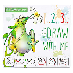 123 Draw With Me - Animals