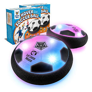 2 Indoor Hover Balls with LED Lights