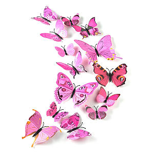 36 Pieces 3D Butterfly Wall Stickers