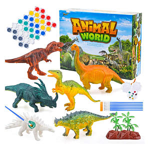 3D Painting Dinosaurs Craft Kit