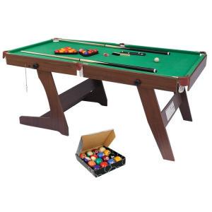 6FT Folding Snooker Table Set