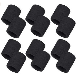 Absorbent Wrist Sweat Bands 6 Pack