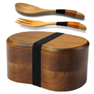 Sushi Wooden Lunch Box