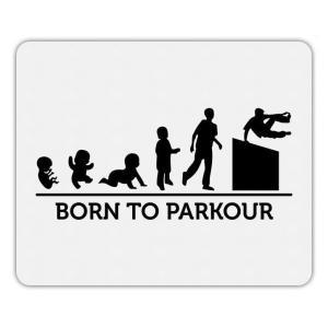 Born To Parkour Mouse Mat