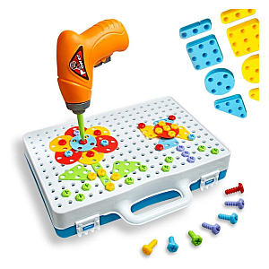 Building Blocks Pegboard Toy Construction