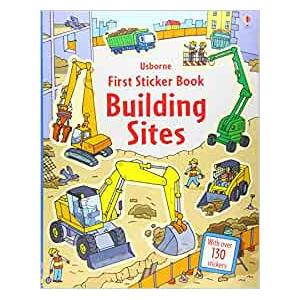 Building Site Sticker Book
