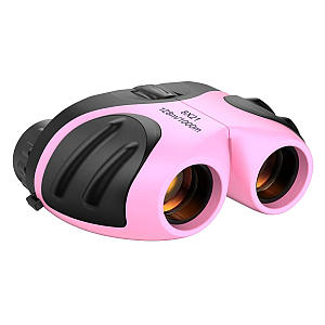 Compact Pink Binoculars