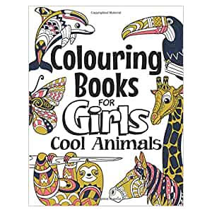 Cool Animal Colouring Book