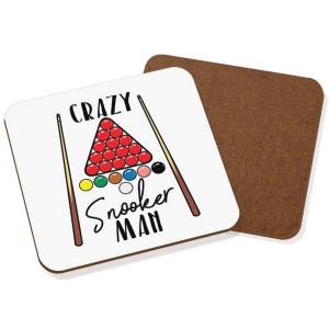 Crazy Snooker Man Coaster