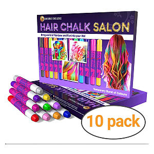 Deluxe Hair Chalk Gift for Girls