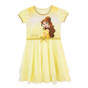 Disney Girls Beauty and The Beast Dress