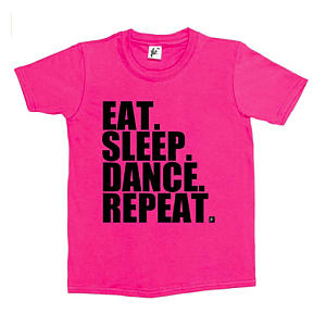Eat Sleep Dance Repeat T Shirt