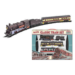 Electric Large Toy Train With Tracks