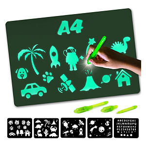 Fluorescent Drawing Board