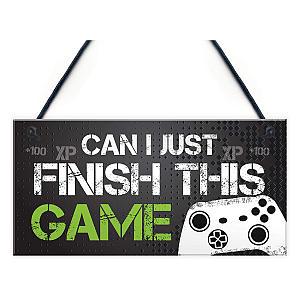 Funny Gamer Bedroom Door Sign
