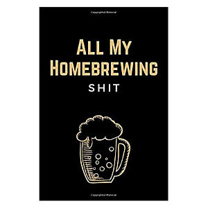 Funny Home Brewing Notebook