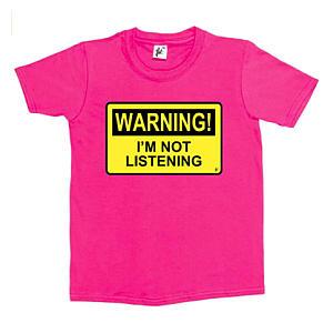 Funny I'm Not Listening T Shirt