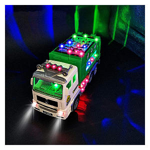 Garbage Light Truck Toy