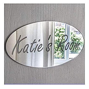 Girl's Personalised Door Name Plaque