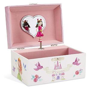 Girl's Spinning Unicorn Musical Box