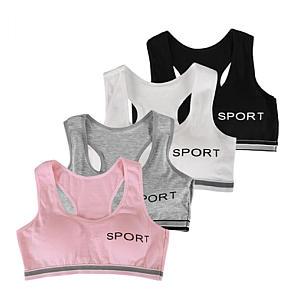 Girls' Wireless Sports Bralette Pack