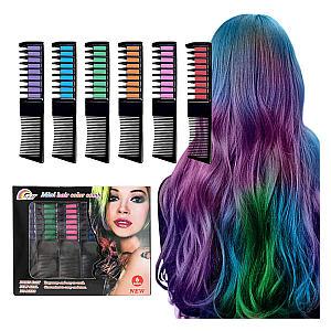 Hair Chalk Combs